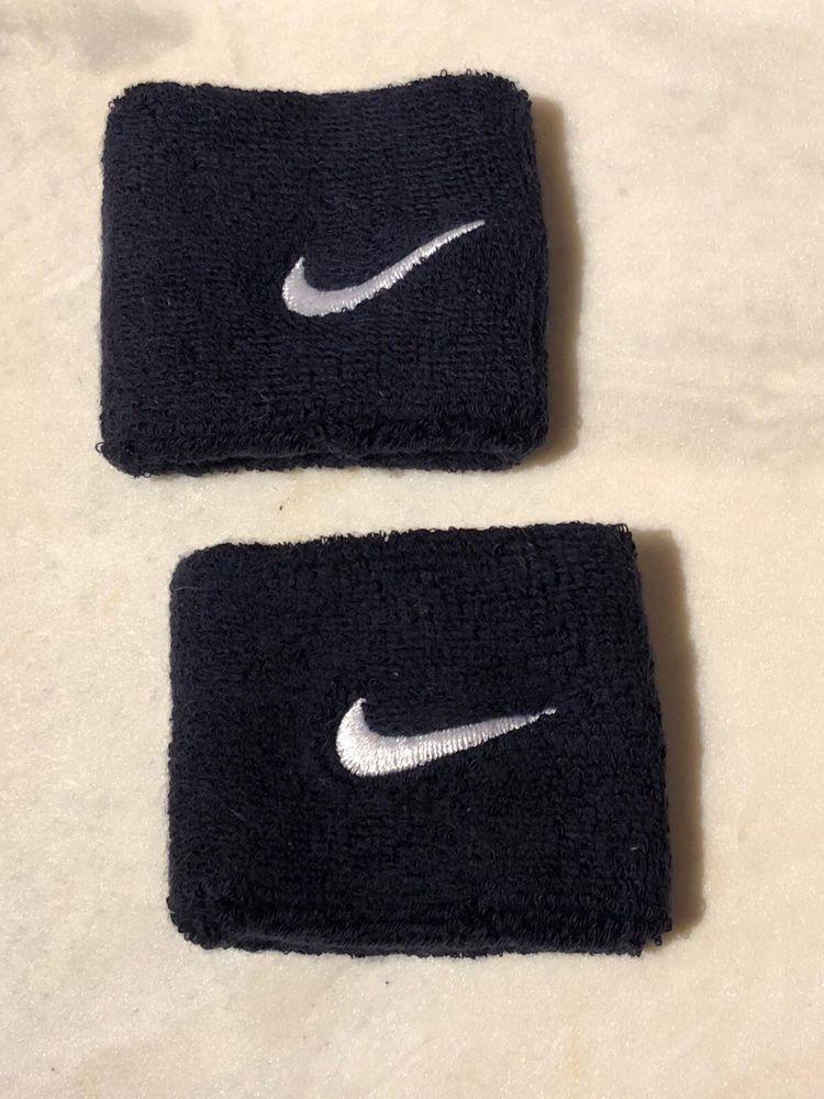 8c44d66709 Nike Unisex Swoosh Black Wristbands | eBay | Modenese store on Ebay ...