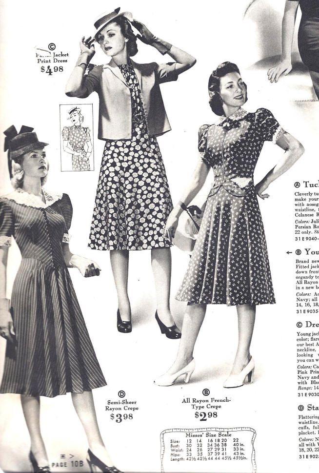 1940s fashion women