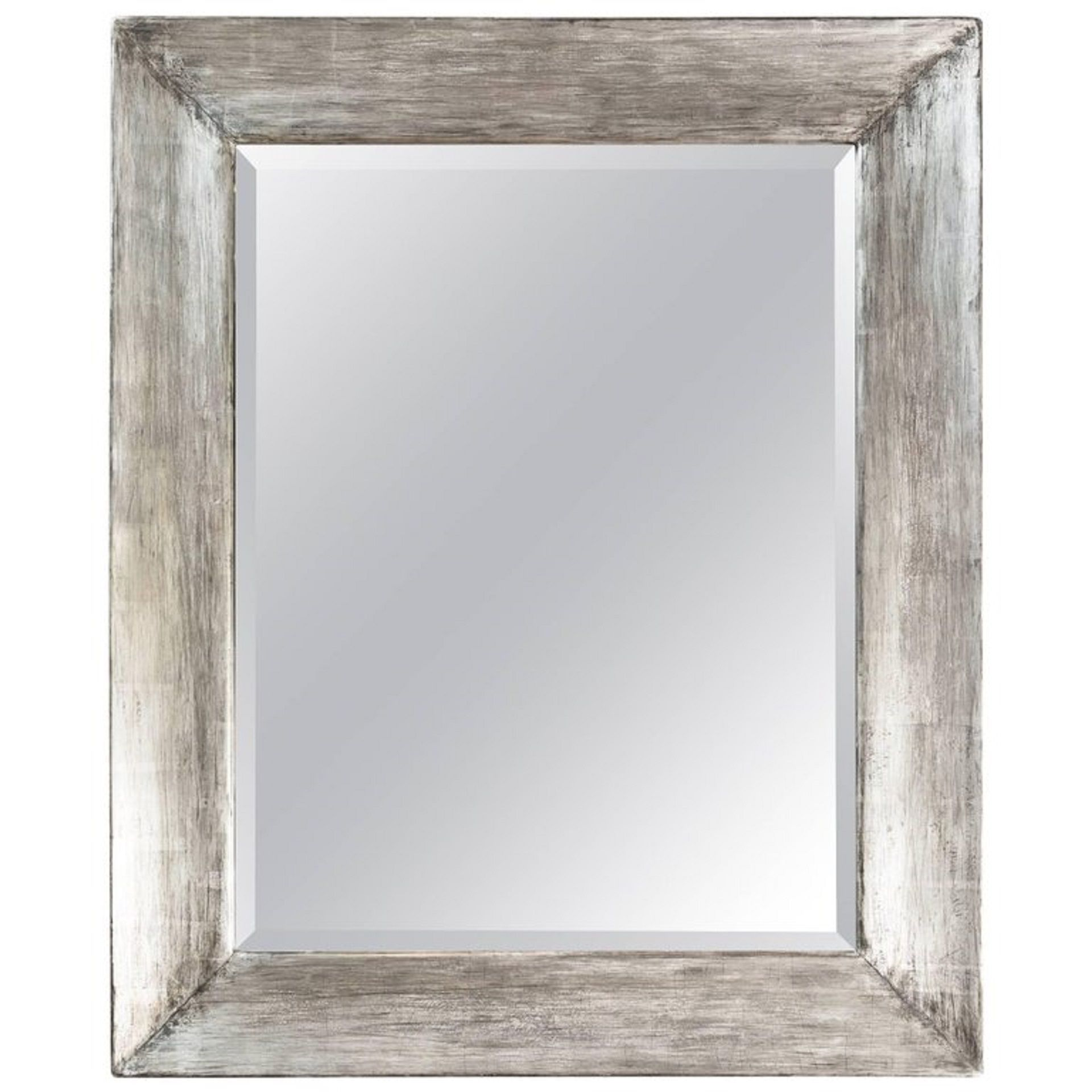 . Paul Marra Distressed Silvered Framed Mirror in 2019   Products