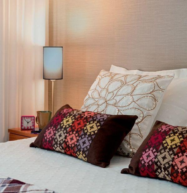 wandtapeten schlafzimmer elegant schlicht | Schlafzimmer | Pinterest