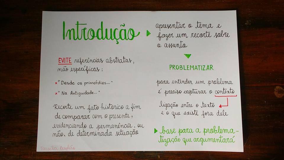 Professora De Redacao Cria Esquema Infalivel Para Enem E Conteudo