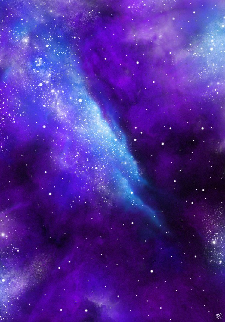 Violet Nebula Purple Galaxy Wallpaper Aesthetic Galaxy Violet Aesthetic