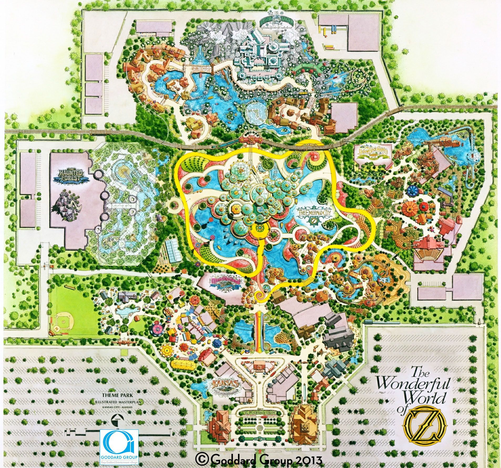 Image Result For Site Plan Theme Park Theme Park Map Theme Park Planning Amusement Park Plan