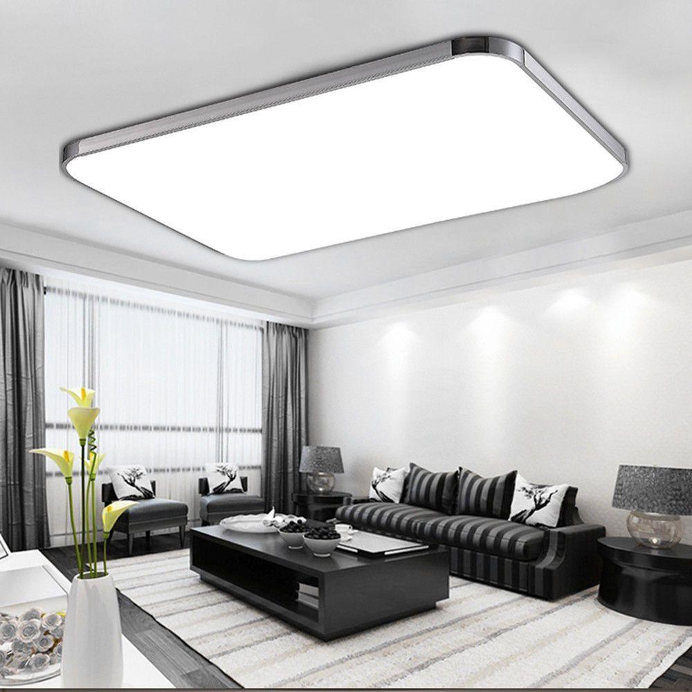 96w Led Panel Led Deckenleuchte Wohnzimmer Beleuchtung Led Deckenlampe Mit Fb De Deckenleuchte Wohnzimmer Deckenlampe Wohnzimmer Beleuchtung Wohnzimmer