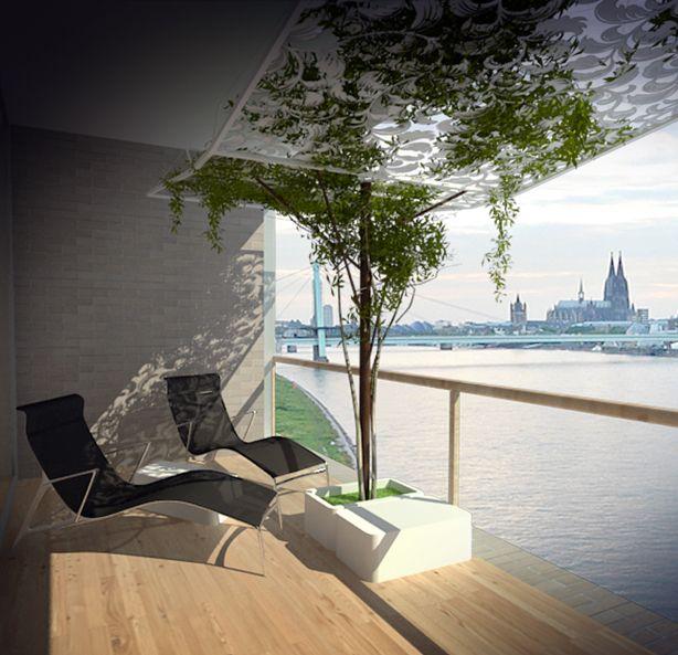 Urban Balcony Garden Ideas Part - 44: Design Challenge: Ten Urban Balcony Garden Ideas