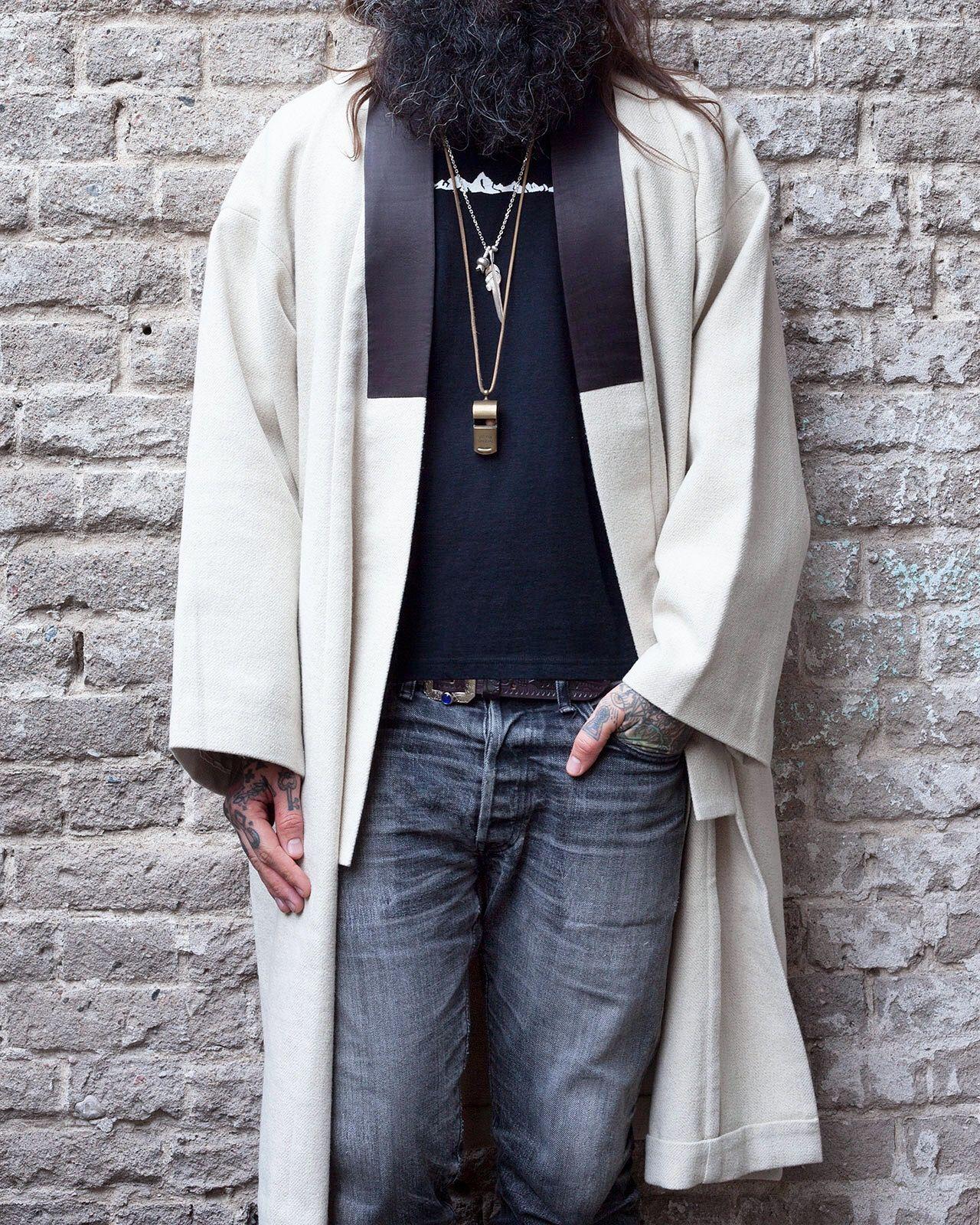Visvim Yukata Coat (Wool Linen) Vintage Tweed 10e479a4d87ec