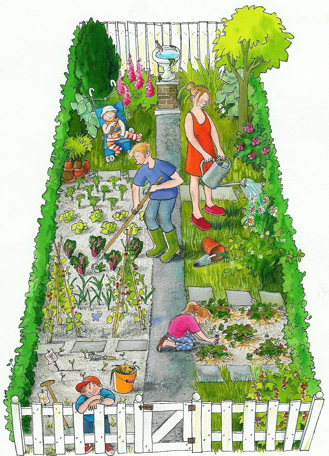 Annette Fienieg Nl Grafisch Kunstenaar Tuin Afbeelding Tuinthema Lentebloemen