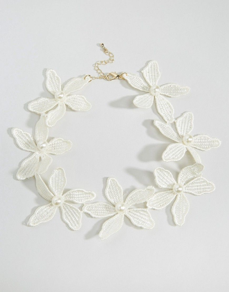 Limited+Edition+Occasion+Flower+Choker+Necklace