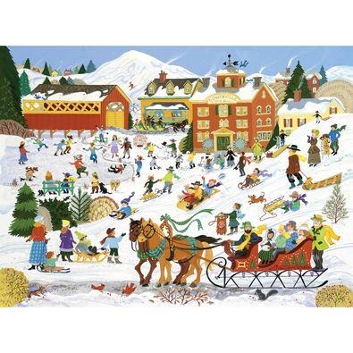 Winter Sports 1000 Piece Jigsaw Puzzle