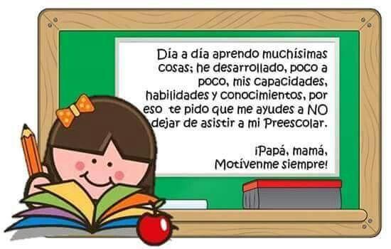 Notita Para Padres Preschool Education Preschool Fictional Characters