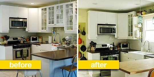 Before & After Transformations: 15 Fantastic Kitchen Makeovers ...
