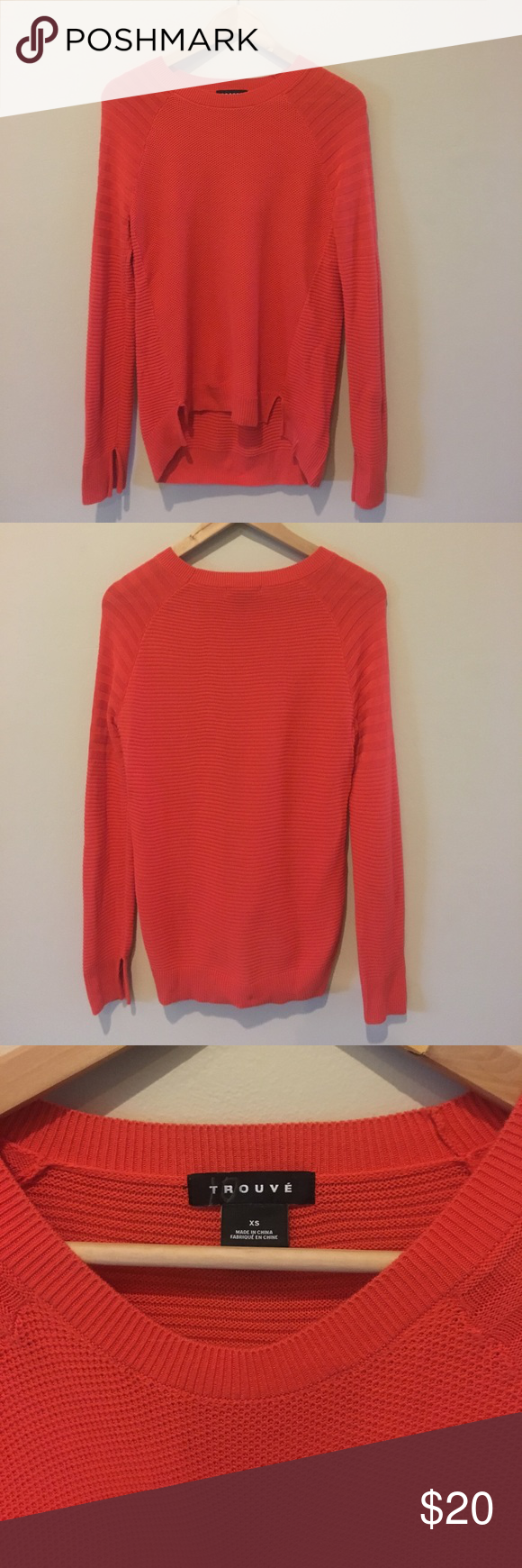 Trouvé Orange Sweater | Scoop neck, Customer support and Delivery