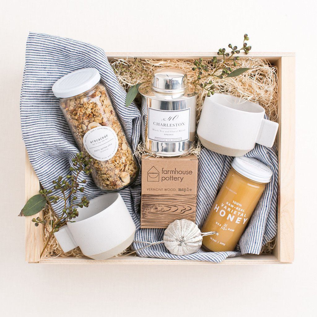 Gift Baskets Toronto Christmas : Breakfast in bed gift box pretty little things