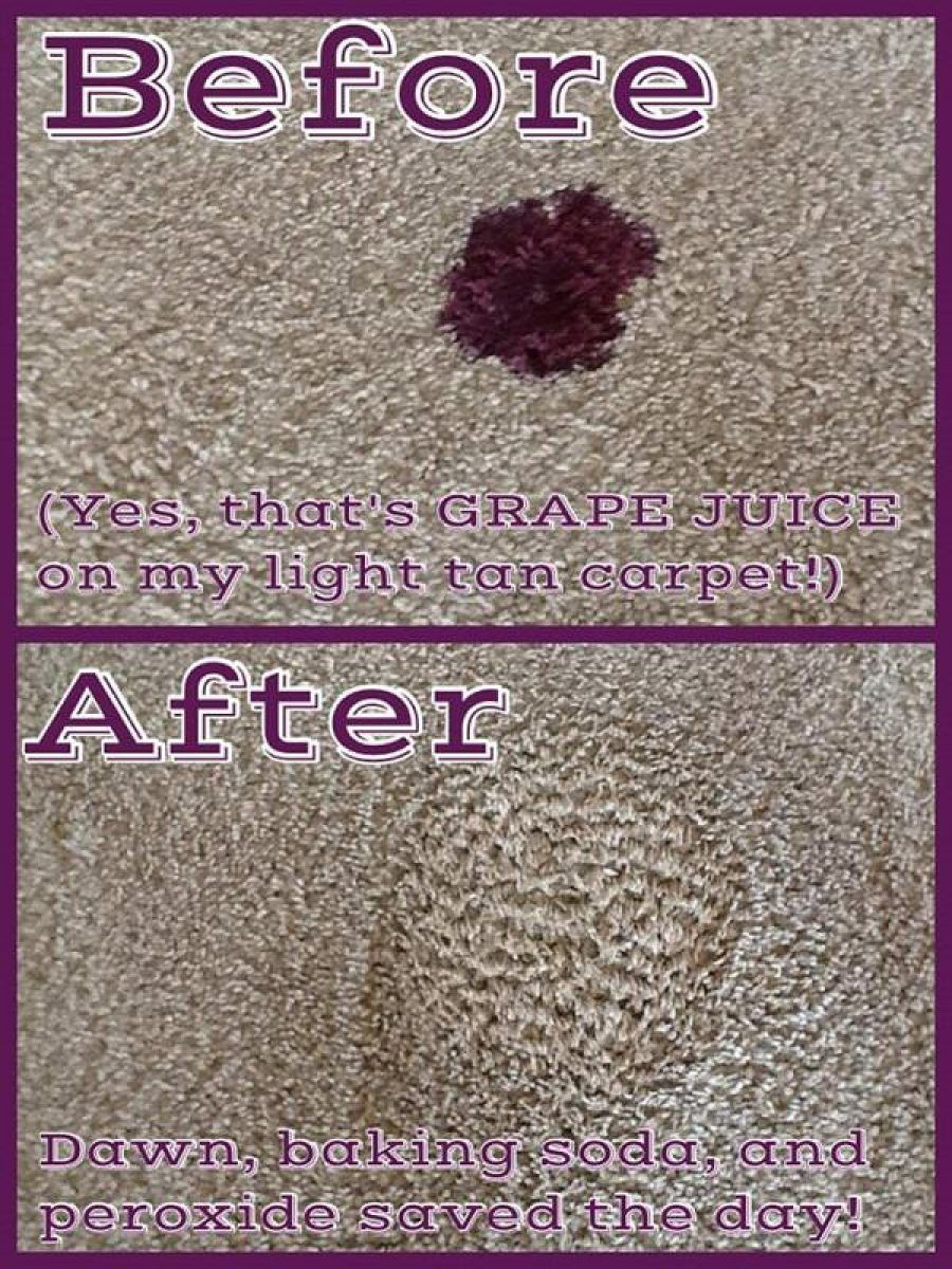 How To Get Rid Of Red Juice Stains On Carpet