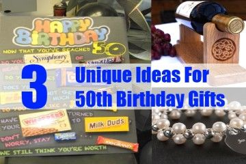 40th Birthday Ideas For 50th Gift Husband