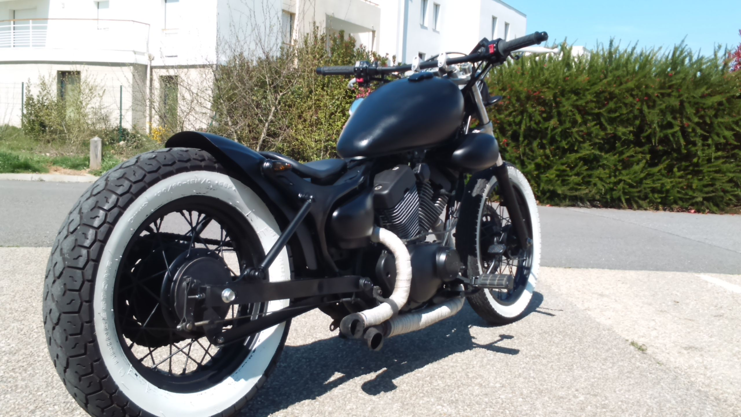 mon bobber 125 virago hobbies motorcycle cars. Black Bedroom Furniture Sets. Home Design Ideas