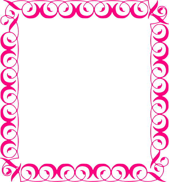 pink floral borders stylish pink border clip art vector clip art rh pinterest com pink floral border clip art pink flower border clip art