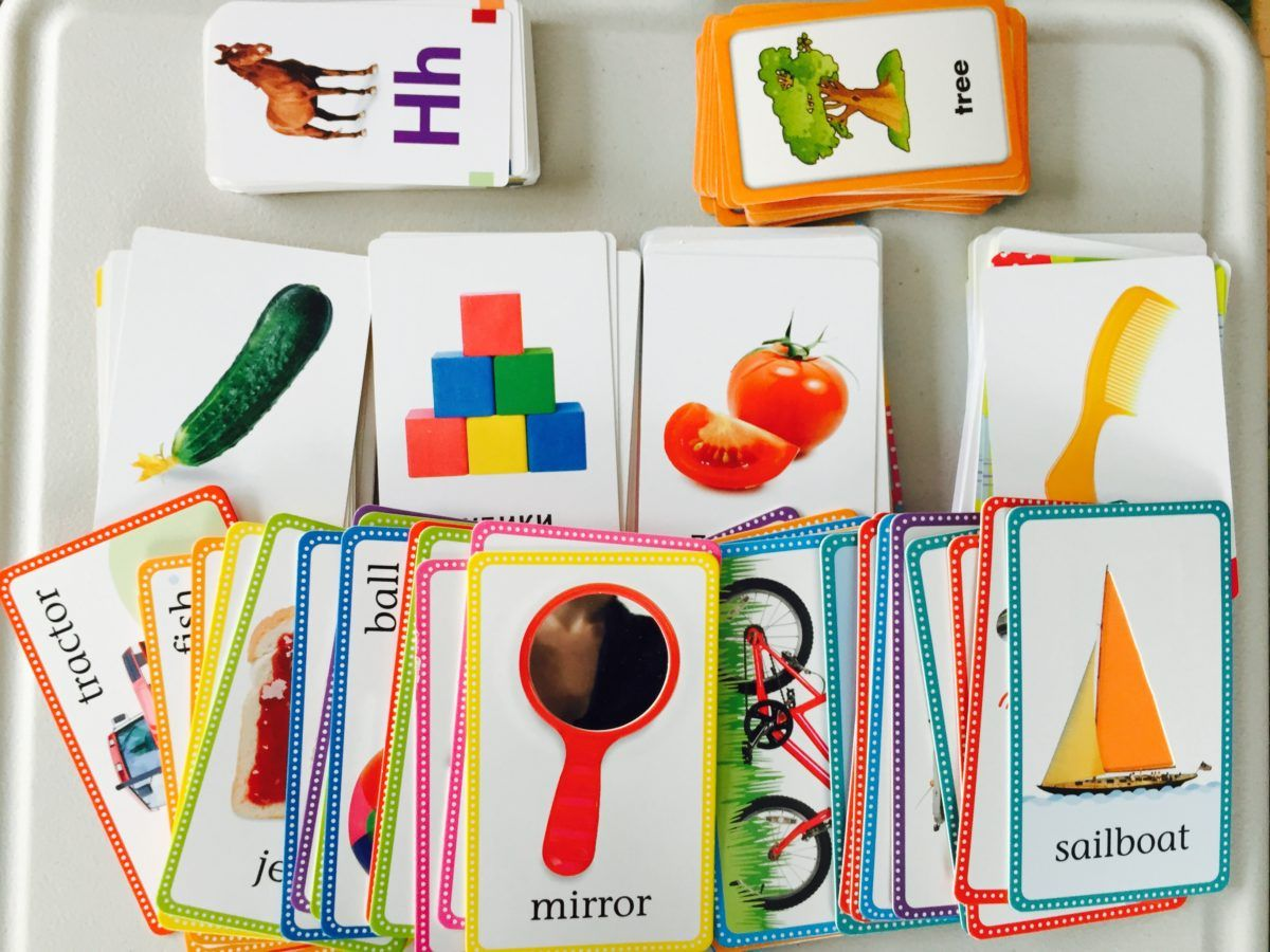 flash cards for toddlers Toddler learning activities