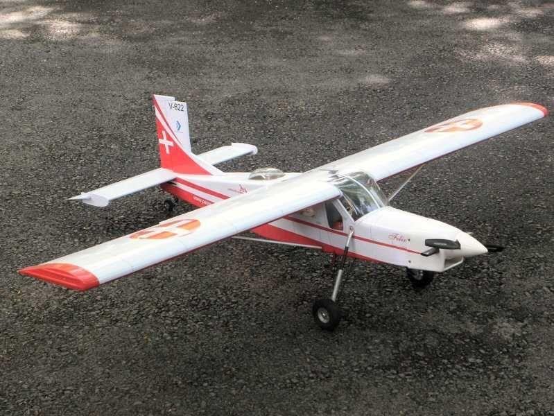 Pilatus Porter PC-6, Felix Swiss, 20ccm, Spw 2170mm, ARF-Set, VQ-Models//Pichler