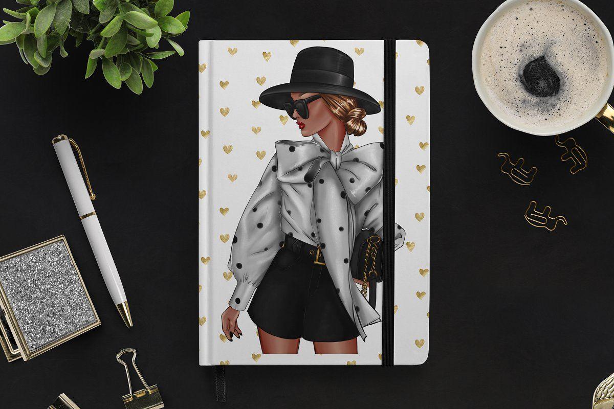 Fashion Girl Clipart #Sponsored , #paid, #Spring#Paris#Summer#Fashion