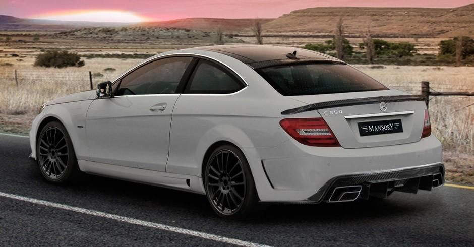Mercedes c class coupe with wide body kit by mansory photo gallery wish list pinterest - Mercedes c class coupe body kit ...