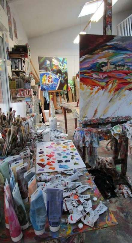 Art Studio Painting Atelier 19+ Ideas