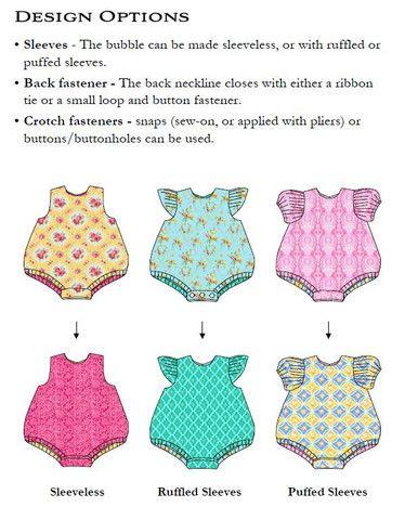 Carly Bubble Romper   Schnittmuster, Kleidung und Kleider