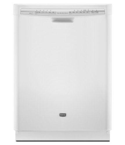 Maytag Mdb7749sbw Jetclean Plus 24 White Full Console Dishwasher