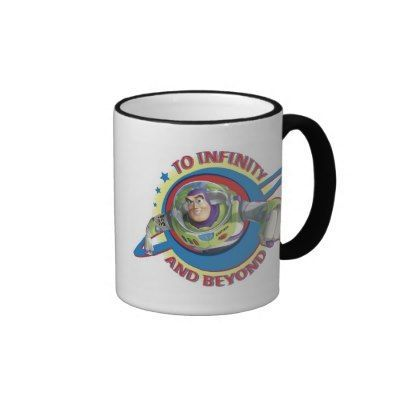 To Infinity and Beyond Logo Disney Mug | Zazzle.com #disneycoffeemugs To Infinity and Beyond Logo Disney Coffee Mugs #disneycoffeemugs