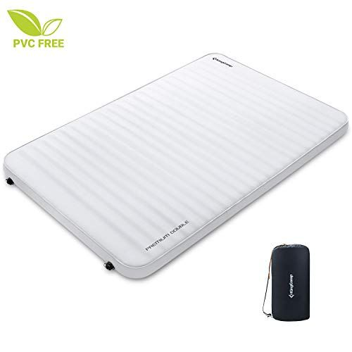 YOUKADA Sleeping pad Double self Inflating Camping pad Large for 2 Person air Mattress with Pillow