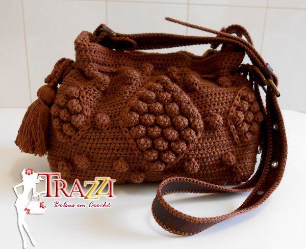 Trazzi - Bolsas em Crochê - Bolsa Jolie Tiracolo - Capuccino