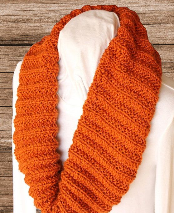 Knitting Pattern 2 Row Repeat Seed Stitch Rib Cowl Easy Versatile