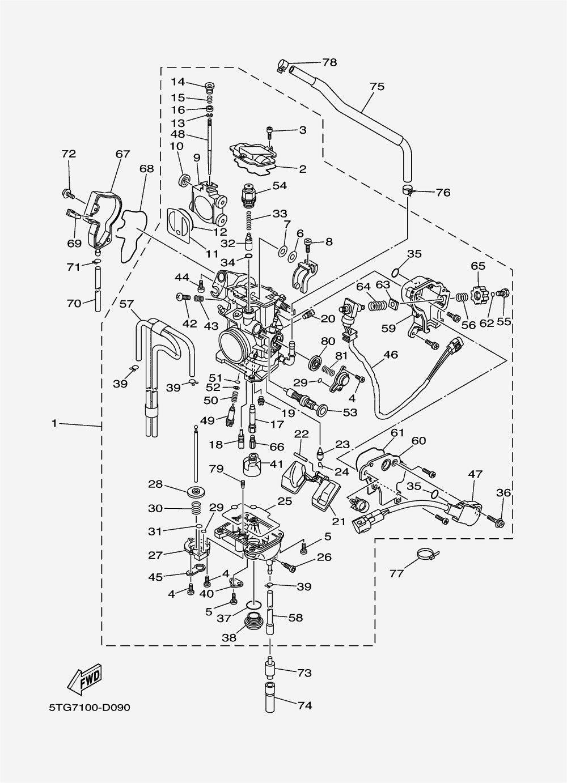 2004 Yfz 450 Wiring Diagram Yamaha Atv Diagram Atv Parts