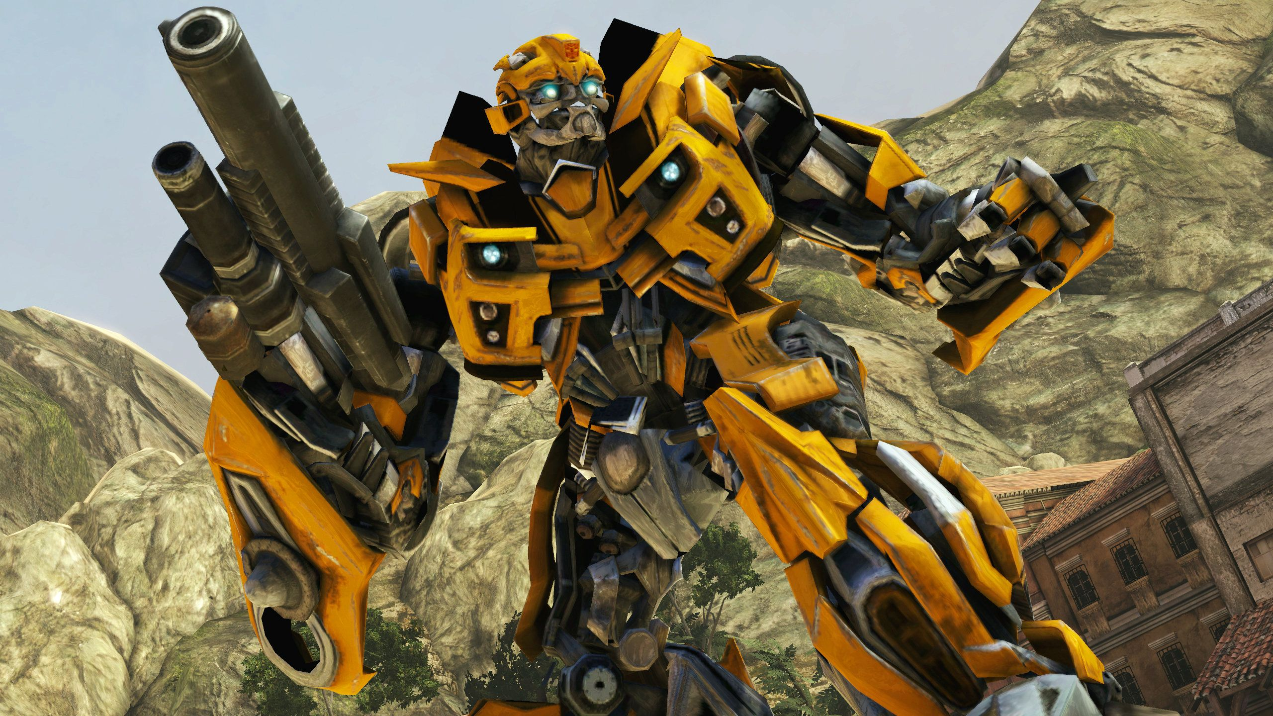 Transformers_DOTM___Bumblebee_ wallpaper