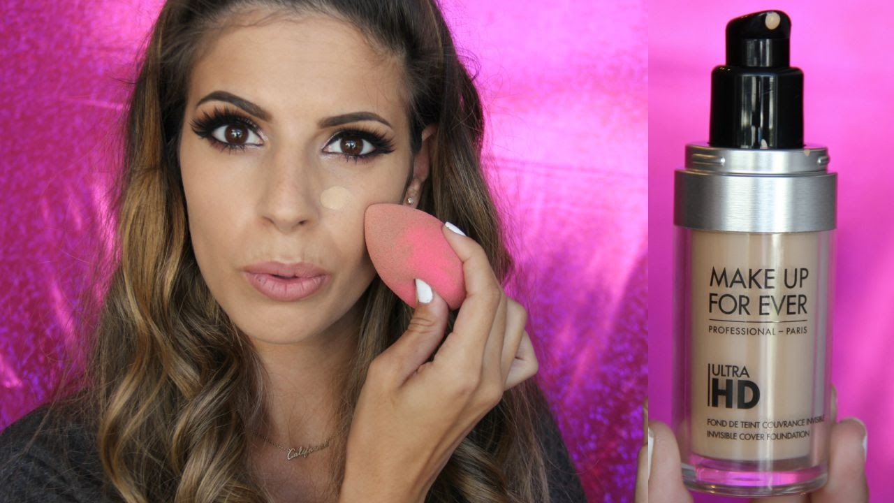 MakeUp Forever Ultra HD Foundation Review + Demo Makeup