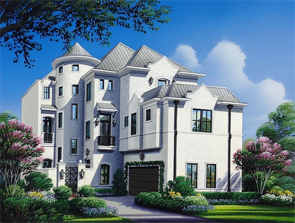 home at 3208 Bammel Lane in Houston, TX House plans