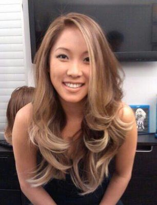 Gorgeous Blonde Ombre Hair Hair Color Asian Dark Blonde Hair Color Blonde Hair Color