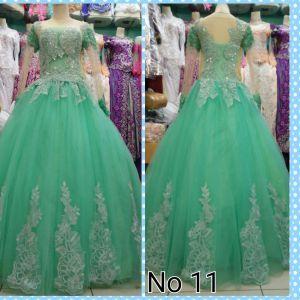 Gaun Pengantin Hijau Mint Wedding Dresses Indonesia Gaun Gaun