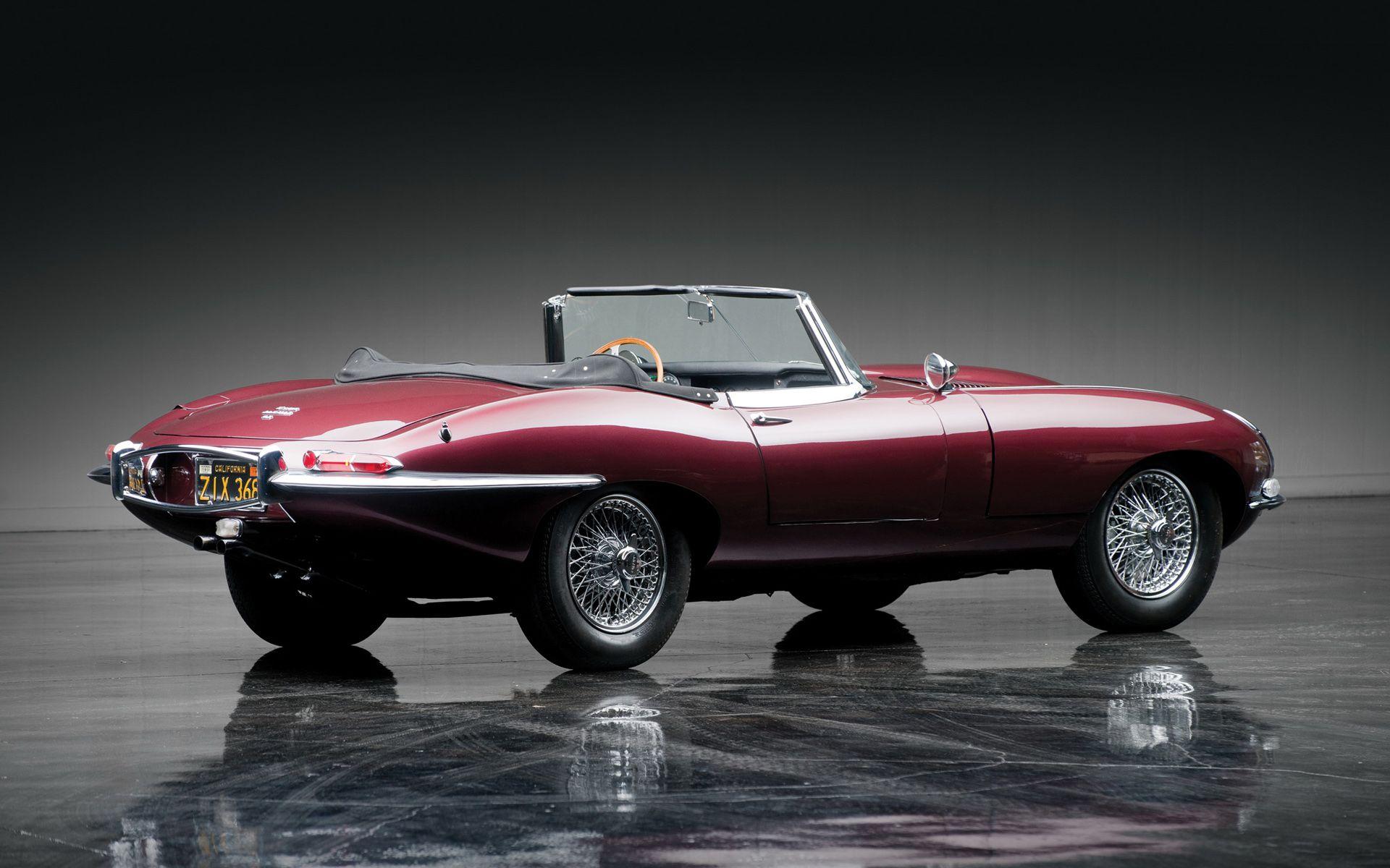 Jaguar E Type Classic Cars Wallpaper