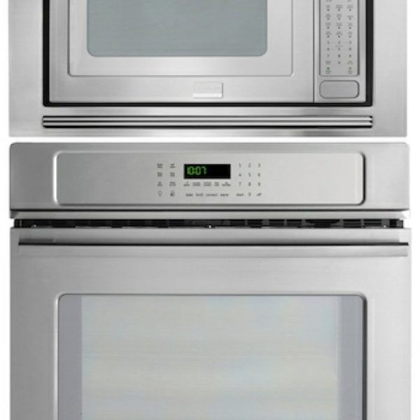 Frigidaire Professional 27 Stainless Steel Electric Wall Oven Microwave Combo Fpew2785pf Fpmo209kf Mwtkp27kf Home Liances