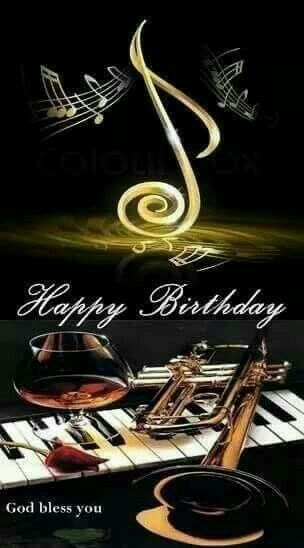 Happy Birthday Musician