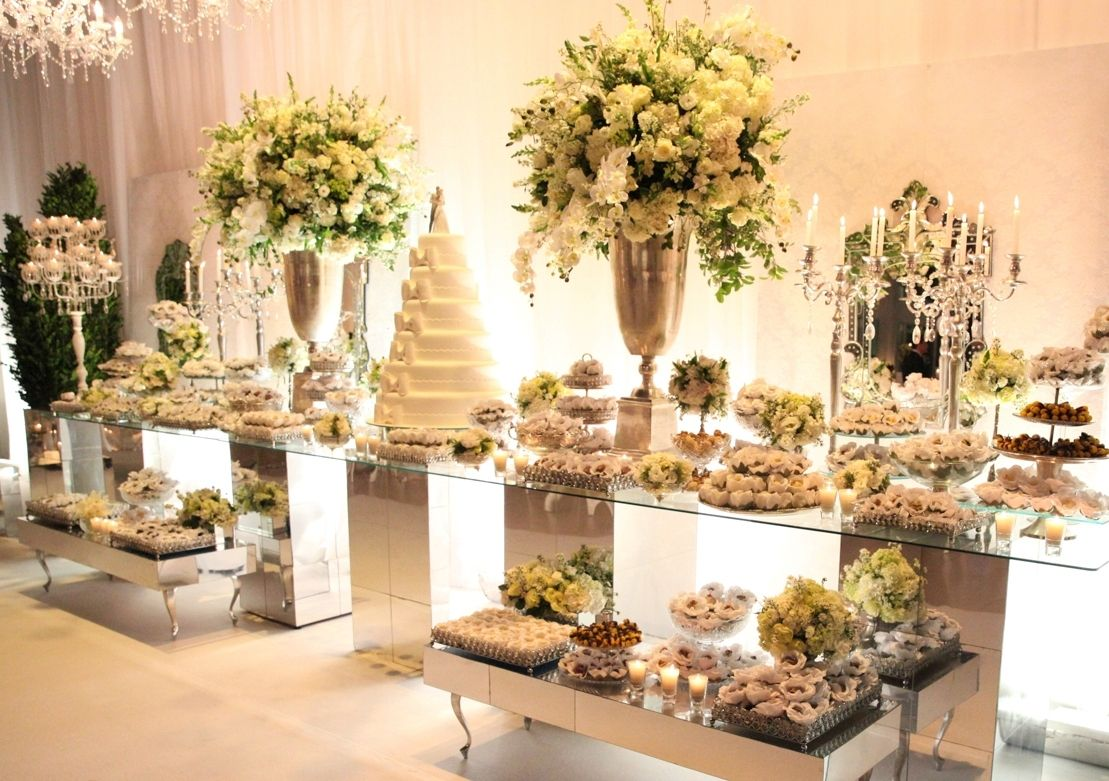 All White wedding decor - Flor & Cia