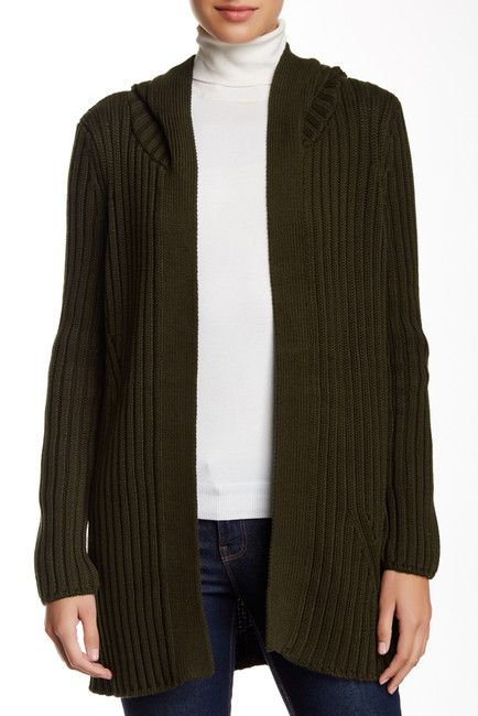 Hooded Knit Cardigan  Sponsored by Nordstrom Rack.