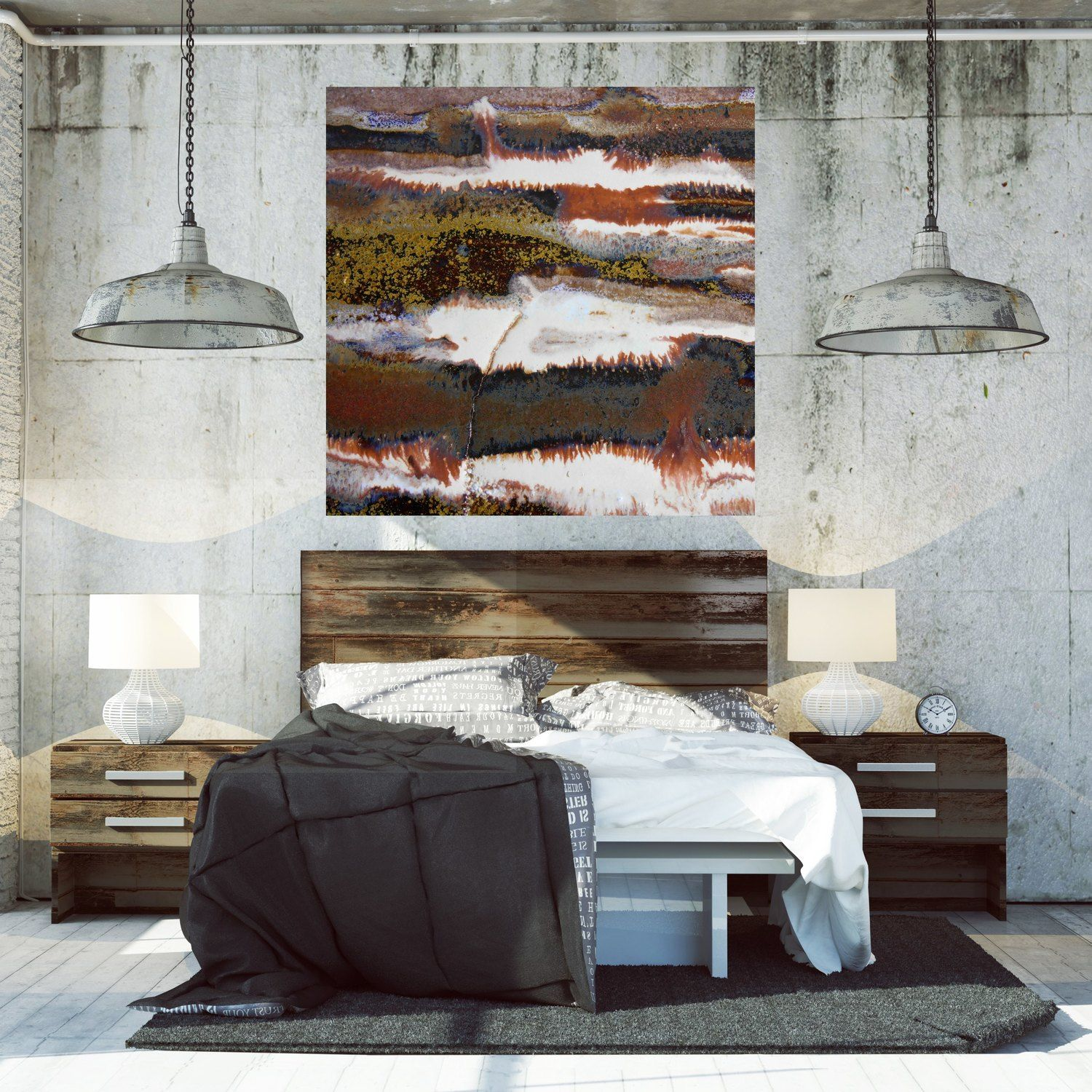 Abstract Canvas Artwork