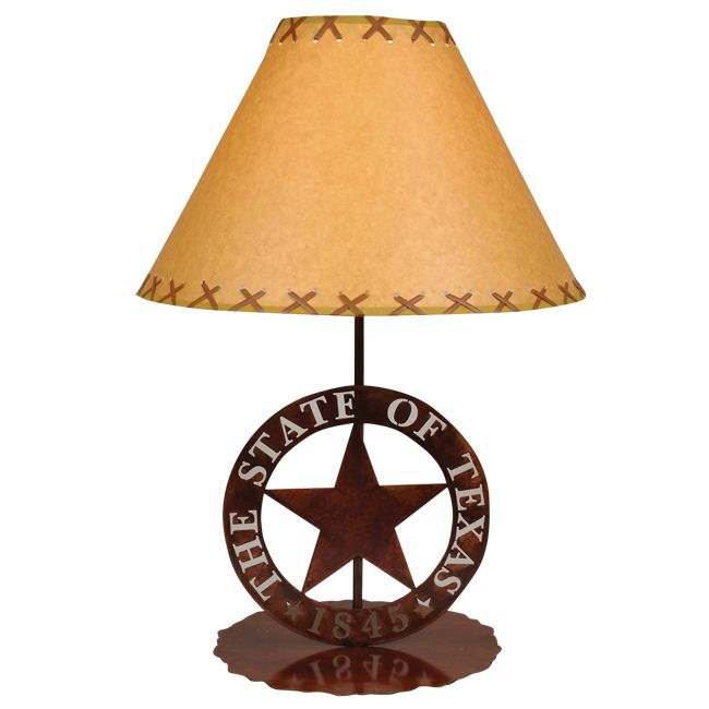 Texas Star Table Lamp With Images