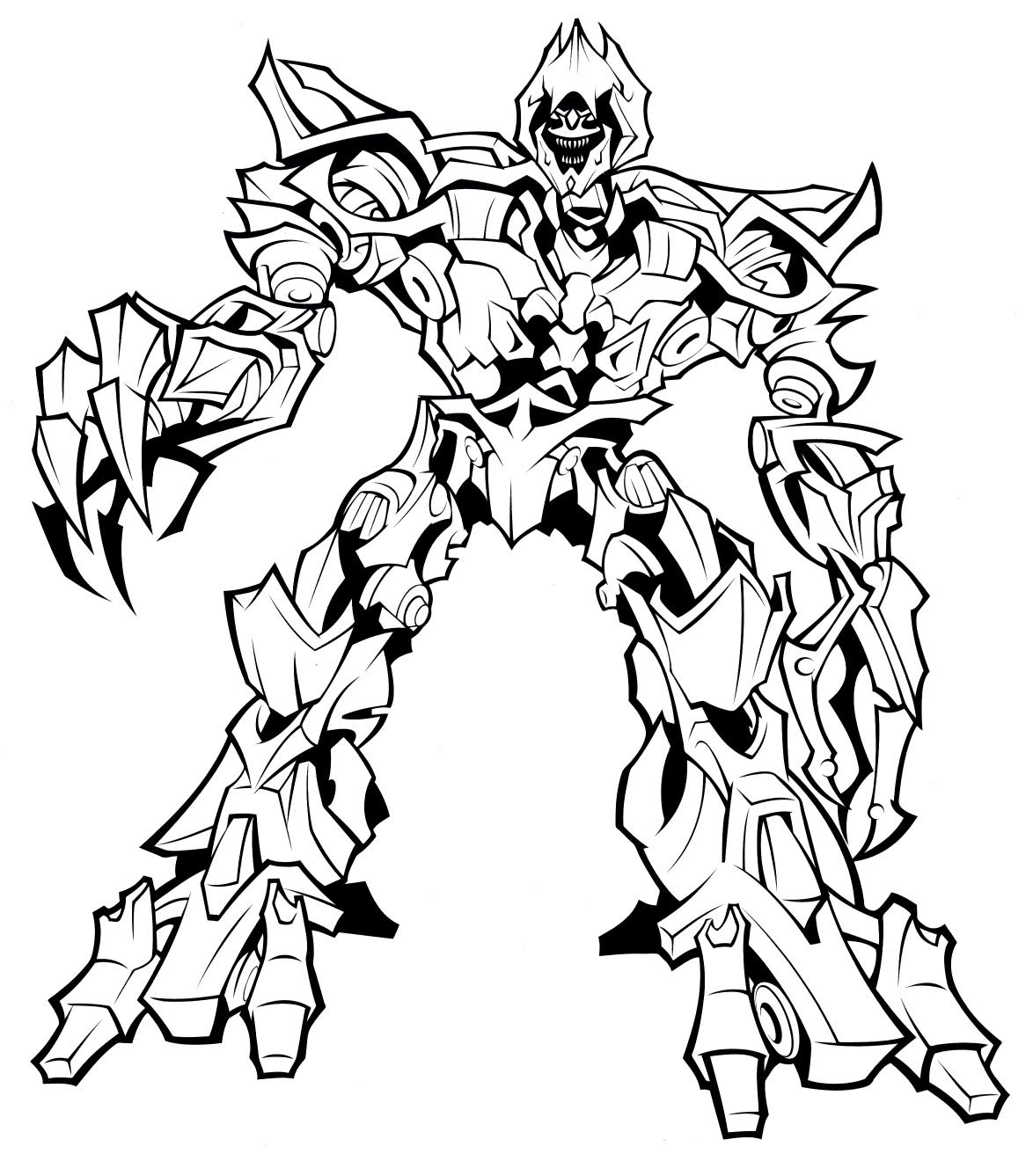 Megatron Coloring Pages Best Coloring Pages For Kids In 2020 Transformers Coloring Pages Toy Story Coloring Pages Pokemon Coloring Pages