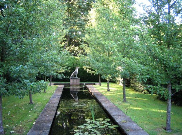 Bryan's Ground - canal in the Dutch Garden