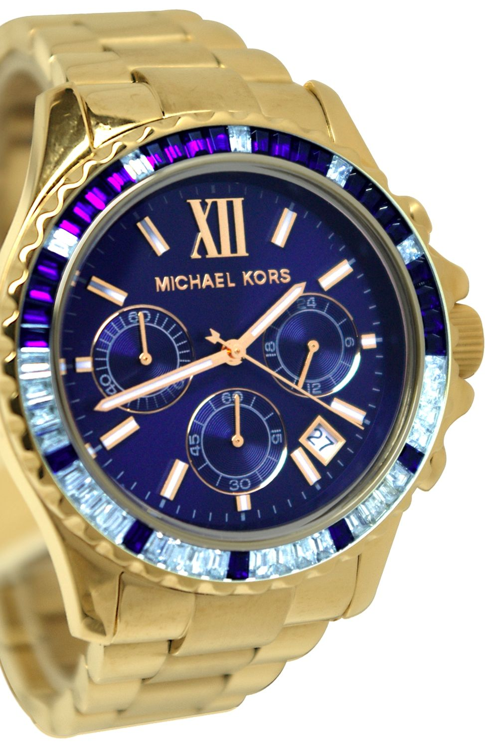 3d631be94485 Michael Kors Everest Chronograph Navy Dial Gold-tone Ladies Watch MK5754    Disclosure  Affiliate link   278.99 - 280.25