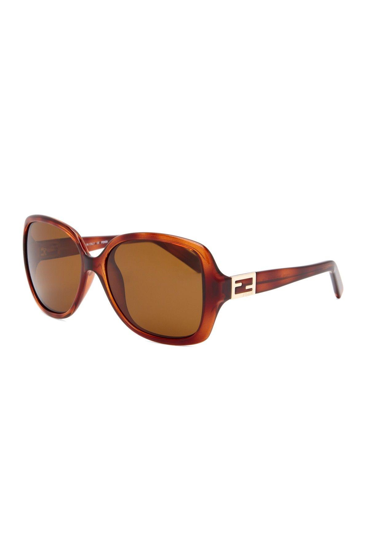 Havana Plastic Sunglasses