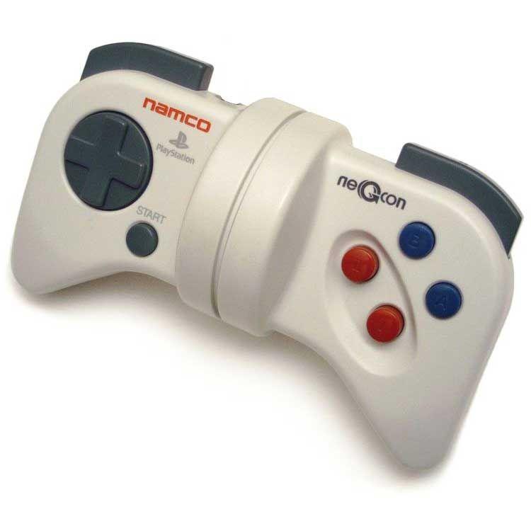 Namco negcon control games videogames